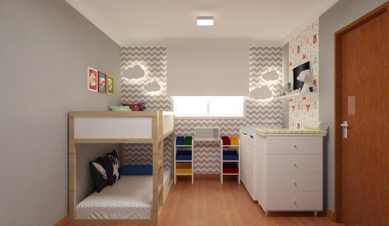 Projeto de quarto de bebê